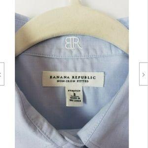 Banana Republic Tops - Banana Republic Non Iron Fitted Shirt